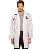 Dickies EDS 37 Inch Long Three Pocket Unisex Medical Lab Coat