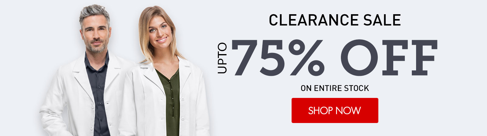 clearance lab coats