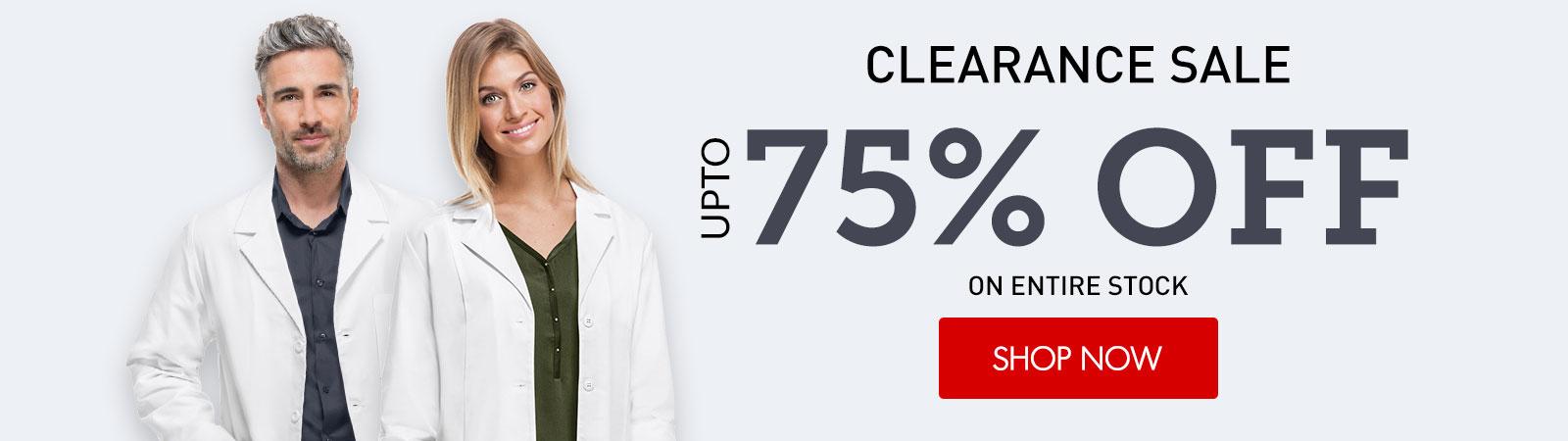 clearance lab coats