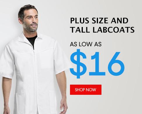 big and tal lab coats