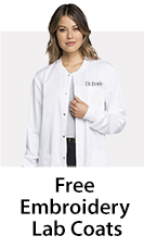 28f97f822b5 Women Lab Coats - Perfect Fit Styles in 20+ Colors | JustLabCoats
