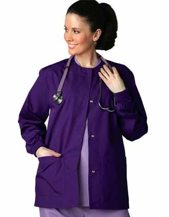 Shop Adar Uniforms Two Pockets Women Warm Up Scrub Lab