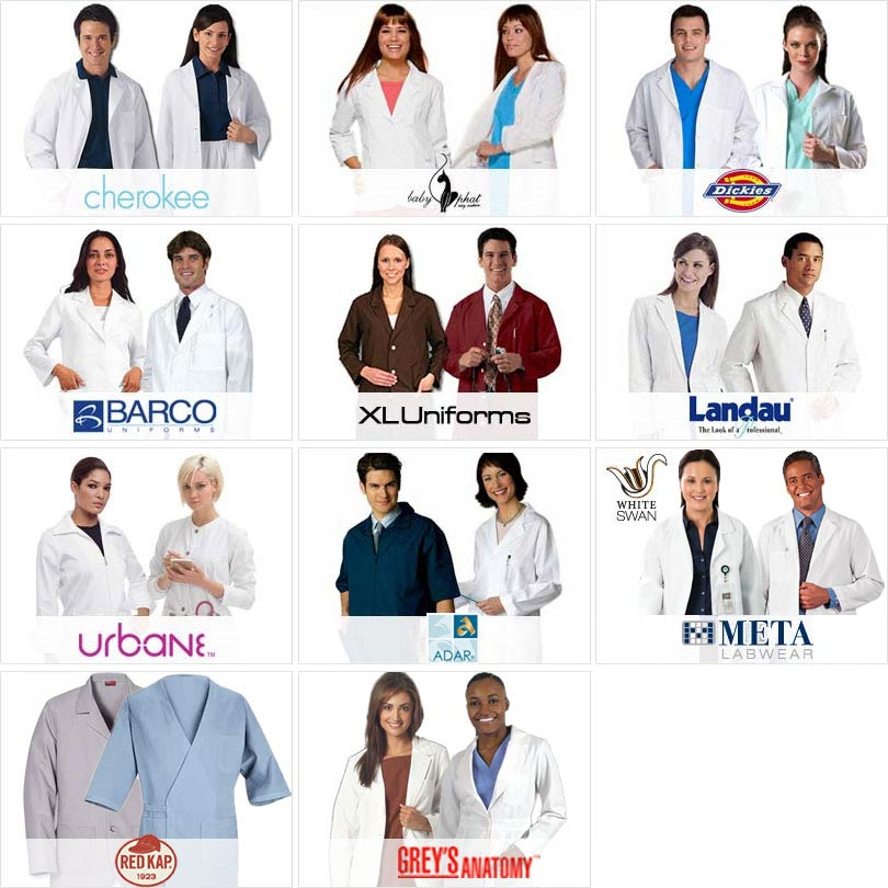 Branded Lab Coats At Great Prices, Get Yours Now